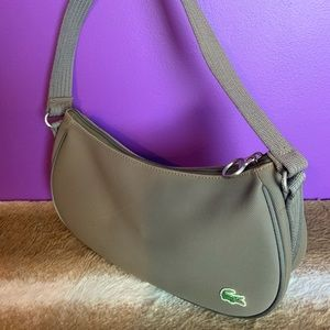 Lacoste shouler bag olive khaki purse